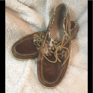 Sperry Top Siders, size 11.